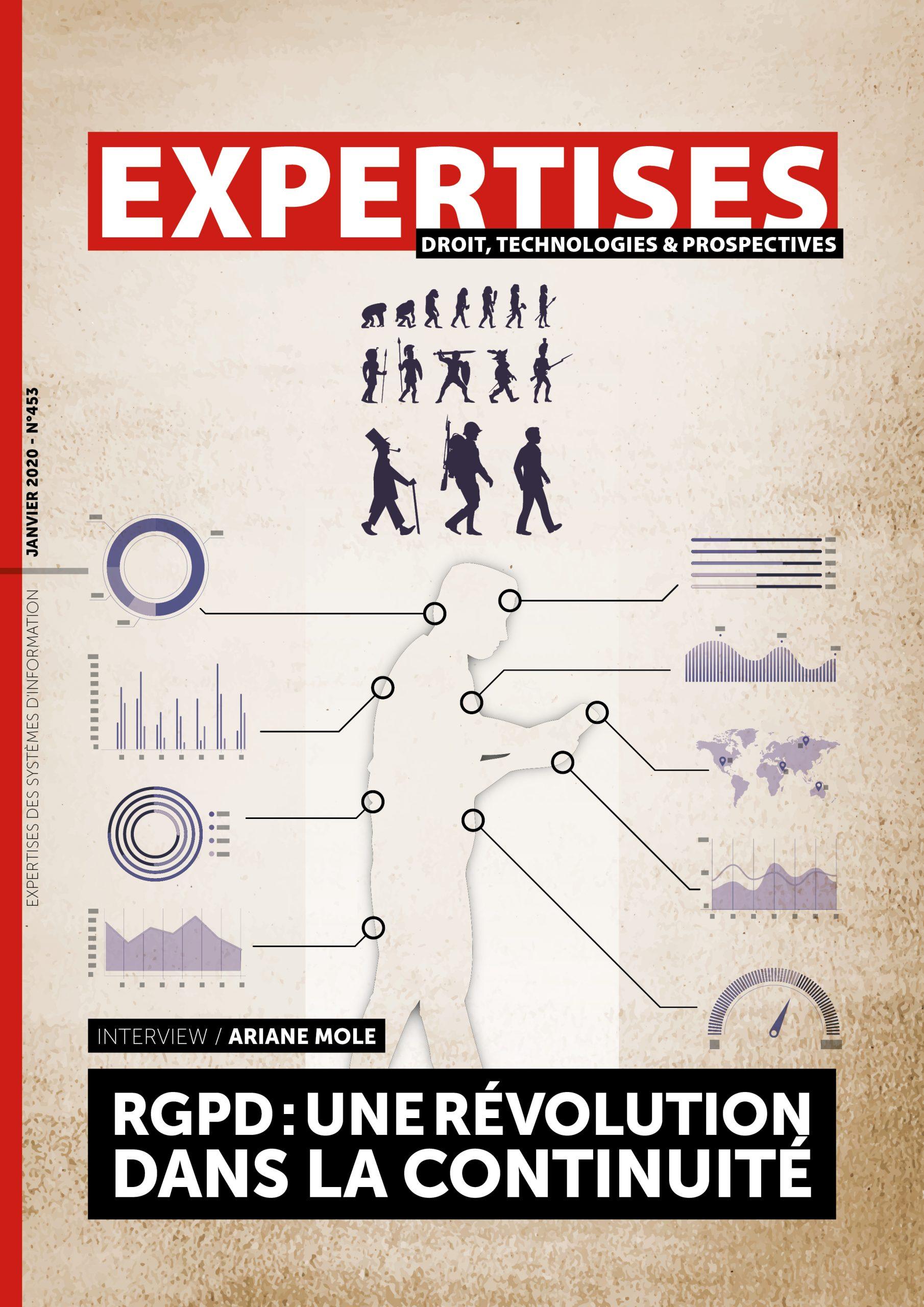 EXPERTISES N°453 - janvier 2020 - RGPD: une révolution dans la continuité / Ariane MOLE